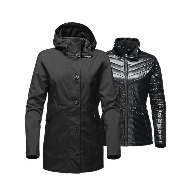 Discount NORTH FACE WOMEN'S AELIANA TRICLIMATE BLACK / BLACK ONLINE