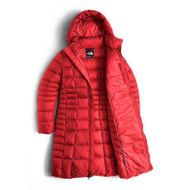 Discount NORTH FACE WOMEN\'S METROPOLIS PARKA II (NEW) HIGH RISK RED ONLINE