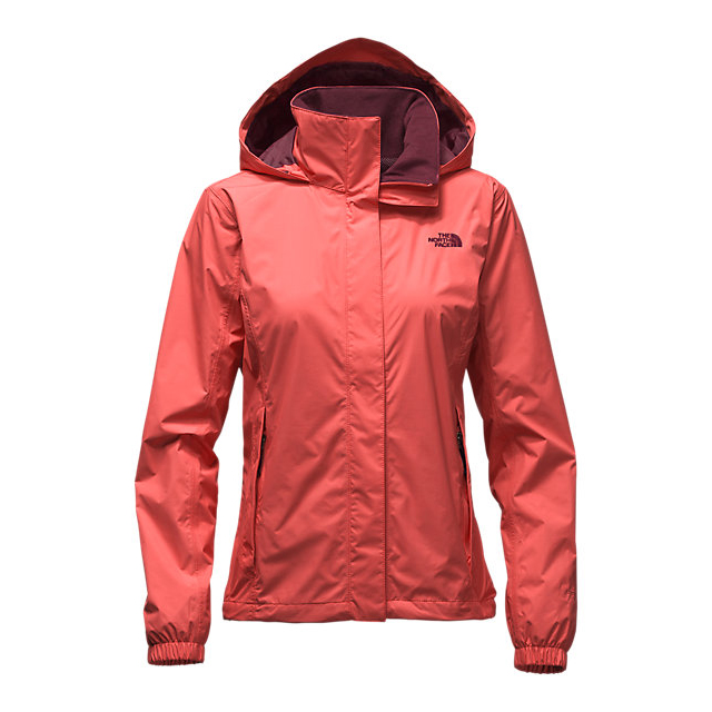 Discount NORTH FACE WOMEN\'S RESOLVE JACKET SPICED CORAL ONLINE