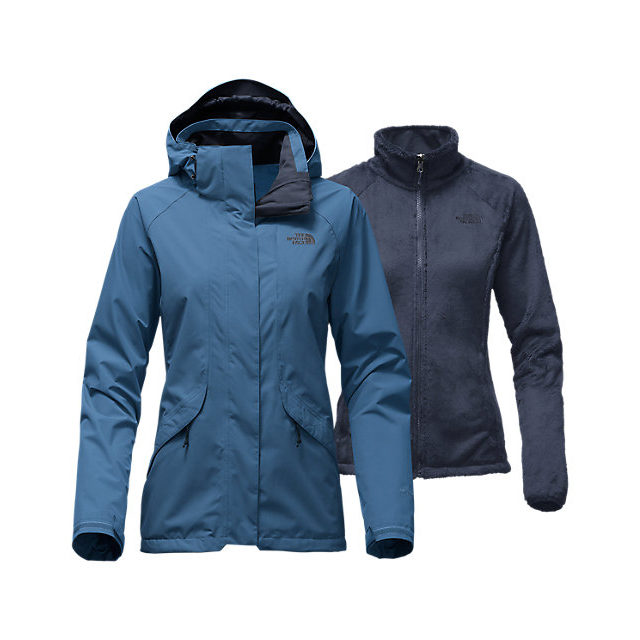 Discount NORTH FACE WOMEN'S BOUNDARY TRICLIMATE JACKET SHADY BLUE ONLINE