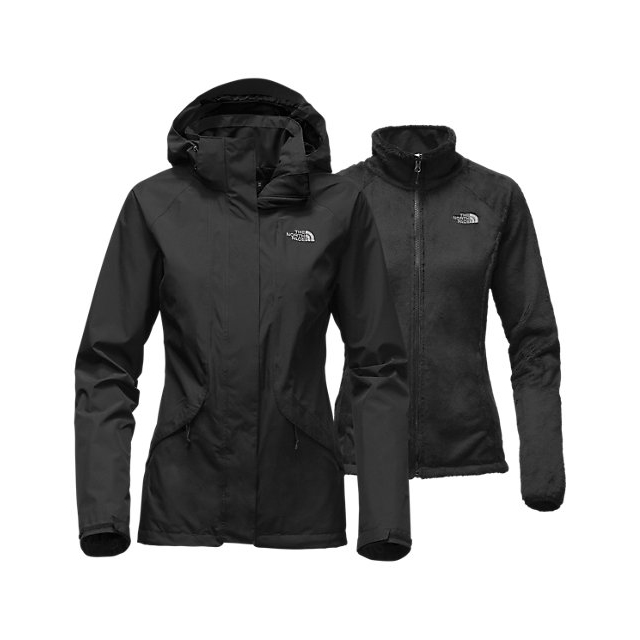 Discount NORTH FACE WOMEN\'S BOUNDARY TRICLIMATE JACKET BLACK ONLINE