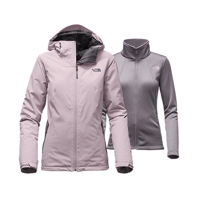 Discount NORTH FACE WOMEN'S HIGHANDDRY TRICLIMATE JACKET QUAIL GREY/RABBT GREY ONLINE
