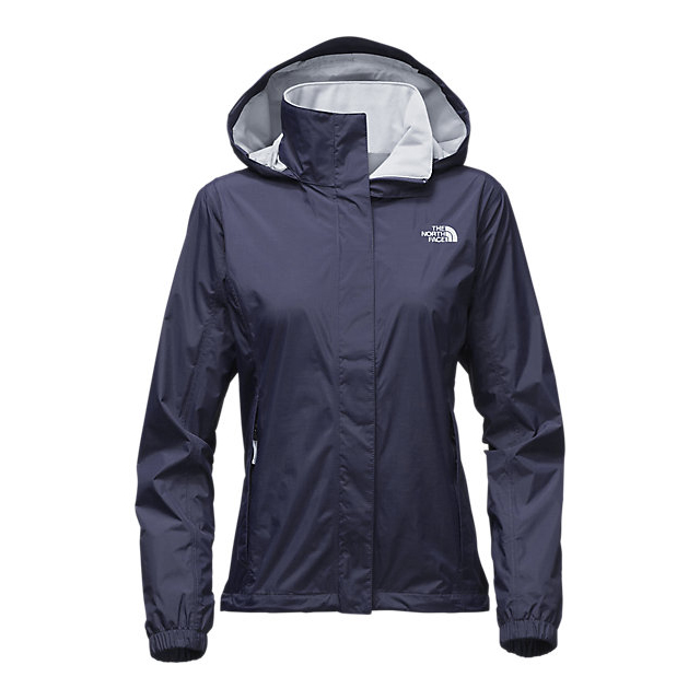 Discount NORTH FACE WOMEN'S RESOLVE JACKET COSMIC BLUE/ARCTIC ICE BLUE ONLINE