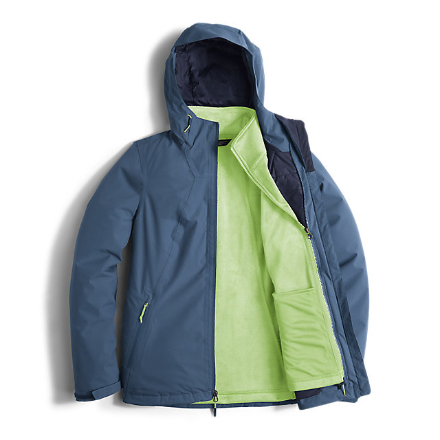 Discount NORTH FACE WOMEN\'S HIGHANDDRY TRICLIMATE JACKET SHADY BLUE ONLINE
