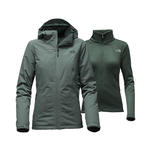 Discount NORTH FACE WOMEN'S HIGHANDDRY TRICLIMATE JACKET BALSAM GREEN/DARKEST SPRUCE ONLINE