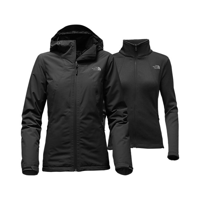 Discount NORTH FACE WOMEN'S HIGHANDDRY TRICLIMATE JACKET BLACK ONLINE