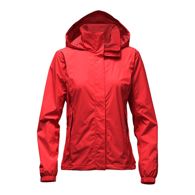 Discount NORTH FACE WOMEN'S RESOLVE JACKET HIGH RISK RED ONLINE