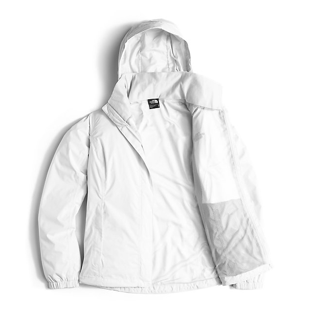Discount NORTH FACE WOMEN\'S RESOLVE JACKET WHITE ONLINE