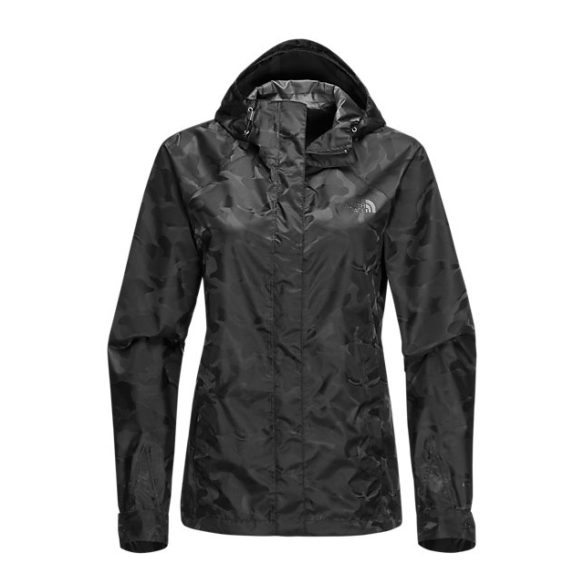 Discount NORTH FACE WOMEN\'S NOVELTY VENTURE JACKET BLACK CAMO ONLINE
