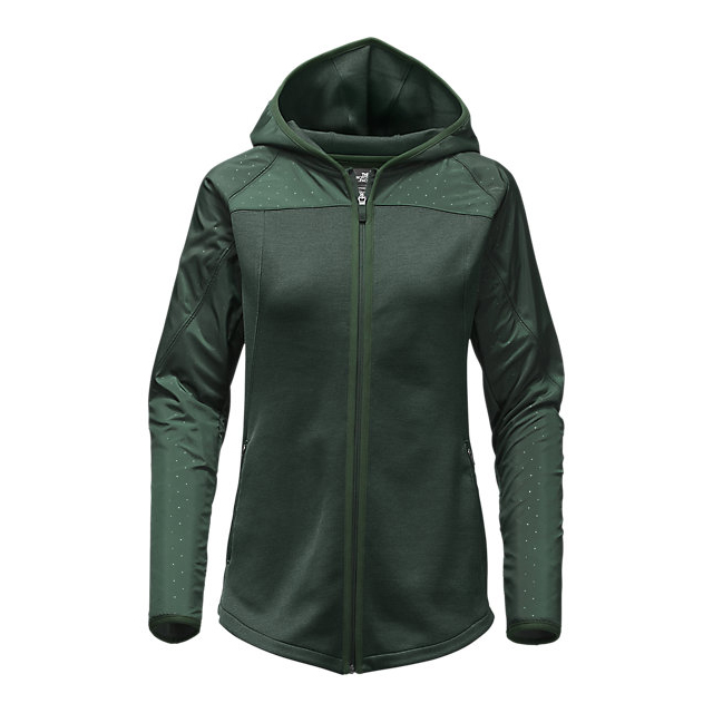Discount NORTH FACE WOMEN'S SPARK FULL-ZIP HOODIE DARKEST SPRUCE/DARKEST SPRUCE HEATHER ONLINE