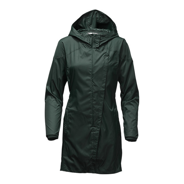 Discount NORTH FACE WOMEN'S GYMSET TRENCH JACKET DARKEST SPRUCE ONLINE