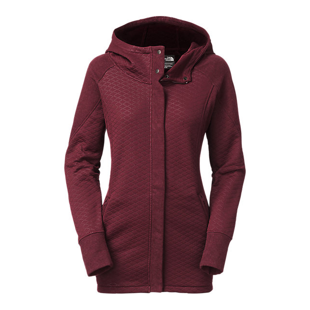 Discount NORTH FACE WOMEN\'S RECOVER-UP JACKET DEEP GARNET RED HEATHER/DEEP GARNET RED ONLINE