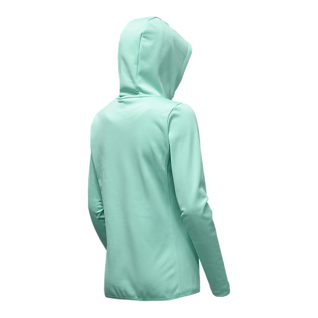 Discount NORTH FACE WOMEN\'S FAVE LFC FULL ZIP HOODIE ICE GREEN/ASPHALT GREY ONLINE