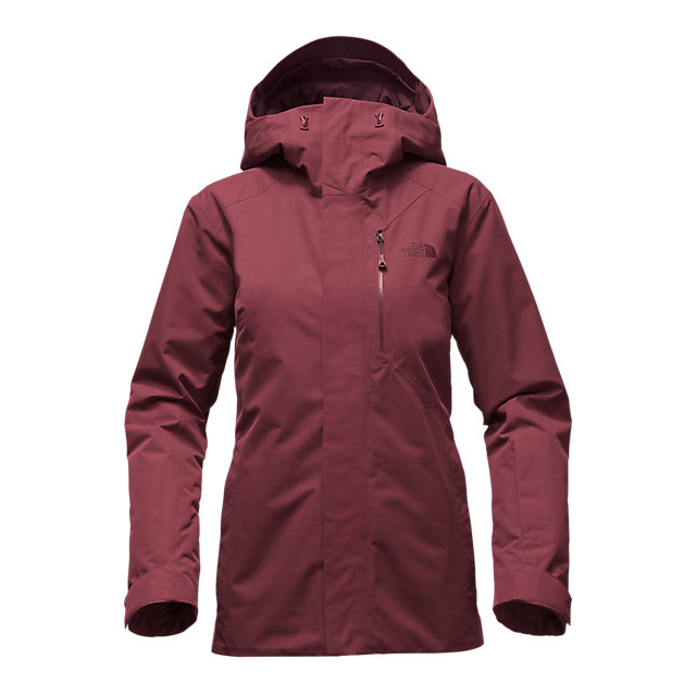 Discount NORTH FACE WOMEN'S NFZ INSULATED JACKET DEEP GARNET RED ONLINE