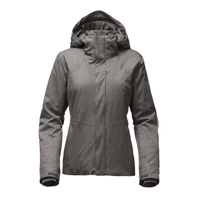 Discount NORTH FACE WOMEN'S POWDANCE JACKET RABBIT GREY HEATHER ONLINE
