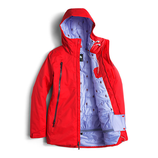 Discount NORTH FACE WOMEN\'S ALLCHIPSIN JACKET HIGH RISK RED WAX ONLINE