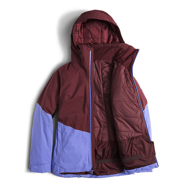 Discount NORTH FACE WOMEN\'S SICKLINE INSULATED JACKET DEEP GARNET RED-STELLAR BLUE ONLINE