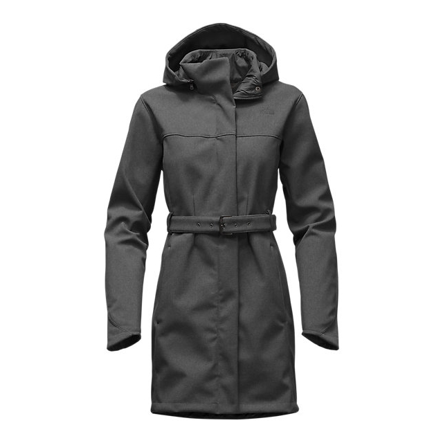 Discount NORTH FACE WOMEN'S APEX BIONIC TRENCH DARK GREY HEATHER ONLINE
