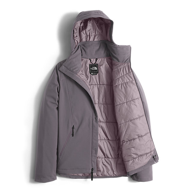 Discount NORTH FACE WOMEN\'S APEX ELEVATION JACKET RABBIT GREY ONLINE