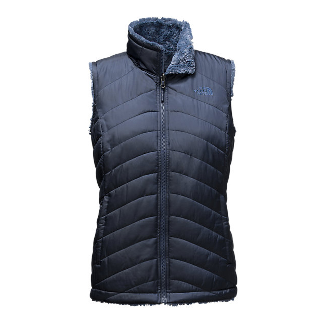 Discount NORTH FACE WOMEN\'S MOSSBUD SWIRL REVERSIBLE VEST COSMIC BLUE/SHADY BLUE ONLINE
