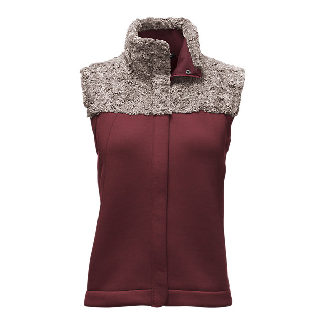 Discount NORTH FACE WOMEN'S HYBRINATION THERMAL 3D VEST DEEP GARNET RED BLACK HEATHER ONLINE