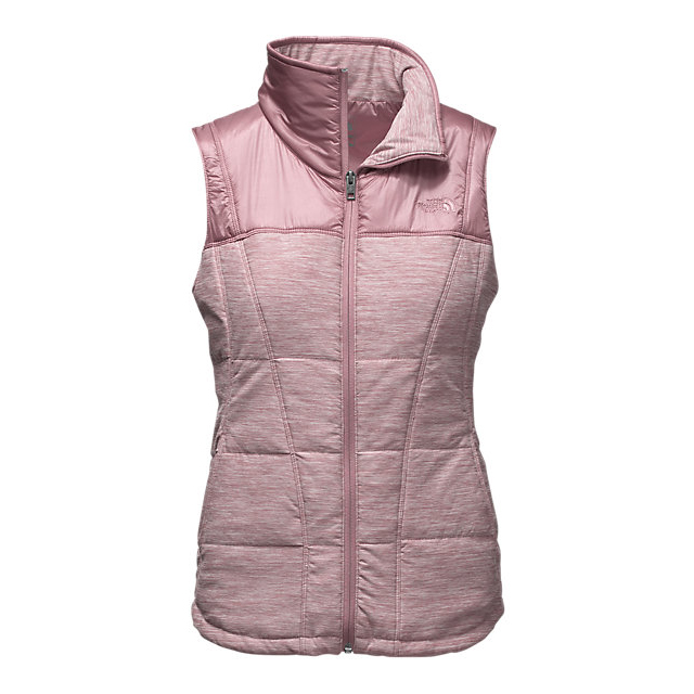 Discount NORTH FACE WOMEN'S PSEUDIO VEST NOSTALGIA ROSE HEATHER/NOSTALGIA ROSE ONLINE