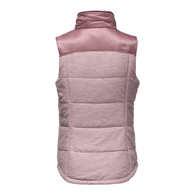 Discount NORTH FACE WOMEN\'S PSEUDIO VEST NOSTALGIA ROSE HEATHER/NOSTALGIA ROSE ONLINE