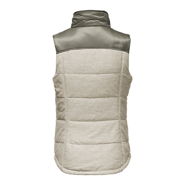 Discount NORTH FACE WOMEN\'S PSEUDIO VEST MOONLIGHT IVORY HEATHER/MOONLIGHT IVORY ONLINE