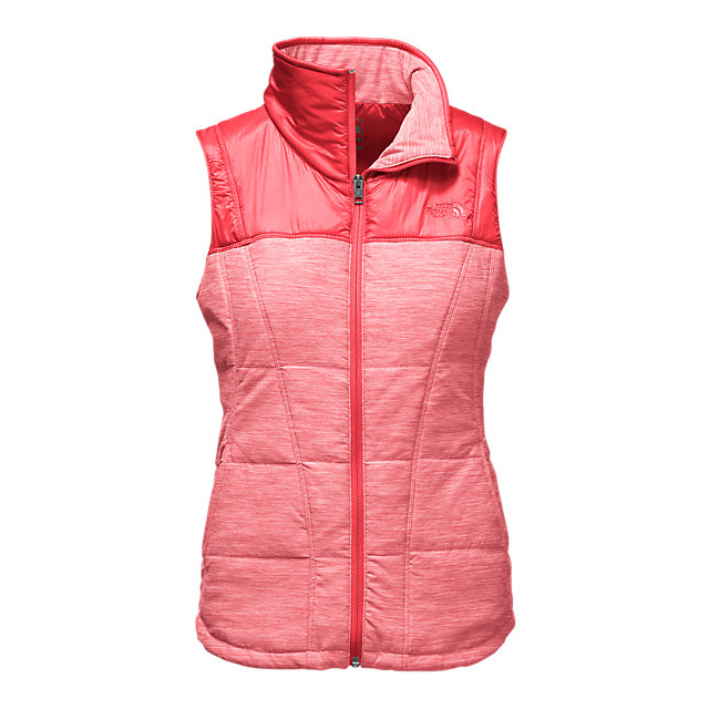 Discount NORTH FACE WOMEN'S PSEUDIO VEST MELON RED HEATHER/MELON RED ONLINE
