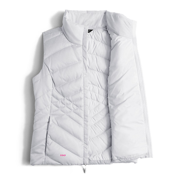 Discount NORTH FACE WOMEN\'S PINK RIBBON ACONCAGUA VEST WHITE ONLINE