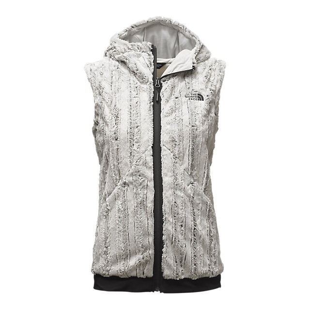 Discount NORTH FACE WOMEN'S FURLANDER VEST LUNAR ICE GREY/BLACK ONLINE