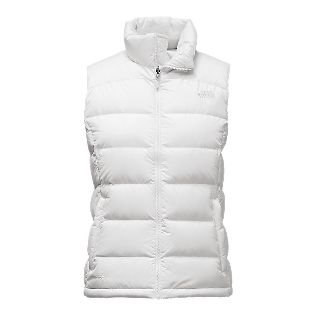 Discount NORTH FACE WOMEN'S NUPTSE 2 VEST WHITE ONLINE