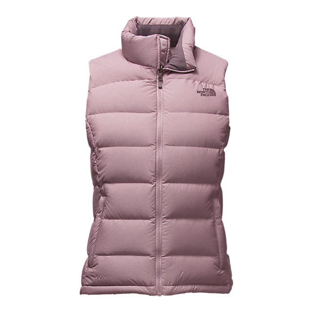 Discount NORTH FACE WOMEN'S NUPTSE 2 VEST QUAIL GREY HEATHER ONLINE