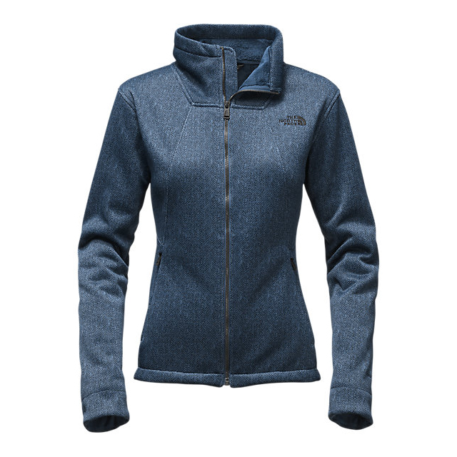 Discount NORTH FACE WOMEN'S APEX CHROMIUM THERMAL JACKET SHADY BLUE/DARK SHADY BLUE HERRINGBONE PRINT ONLINE