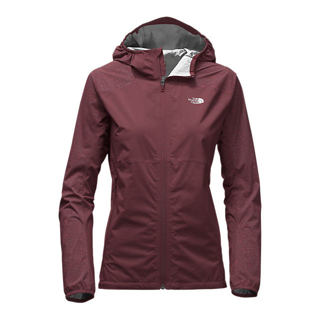 Discount NORTH FACE WOMEN'S STORMY TRAIL JACKET DEEP GARNET RED ONLINE