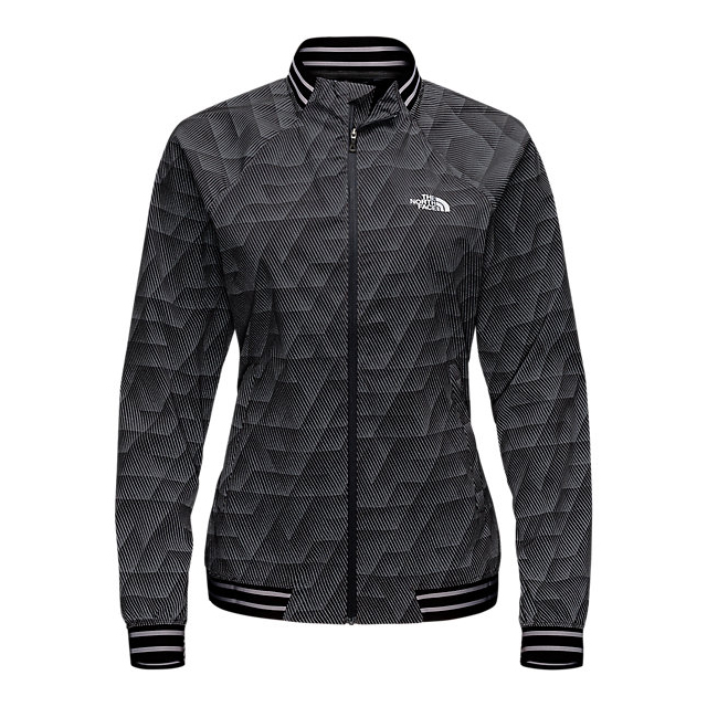 Discount NORTH FACE WOMEN\'S RAPIDA MODA JACKET ASPHALT GREY REFLECT PRINT ONLINE