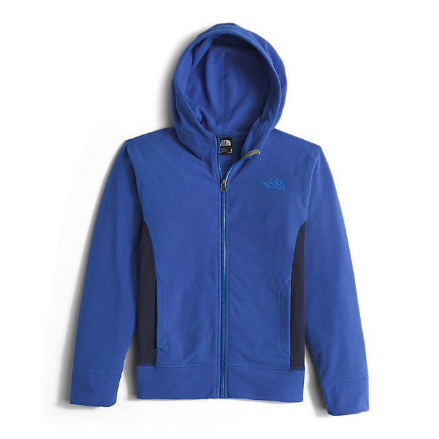 Discount NORTH FACE BOYS\' GLACIER FULL ZIP HOODIE HONOR BLUE ONLINE