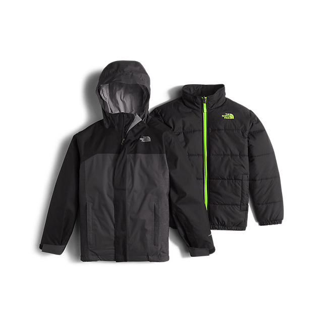 Discount NORTH FACE BOYS' BOUNDARY TRICLIMATE JACKET BLACK ONLINE