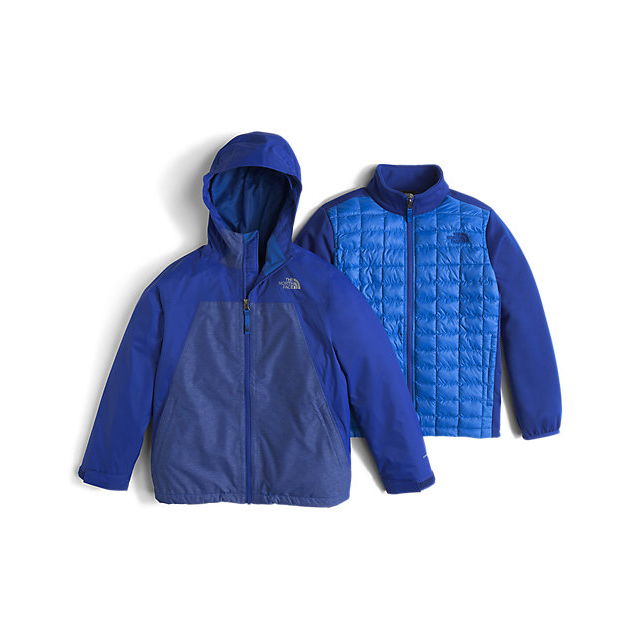 Discount NORTH FACE BOYS' THERMOBALL TRICLIMATE HONOR BLUE ONLINE