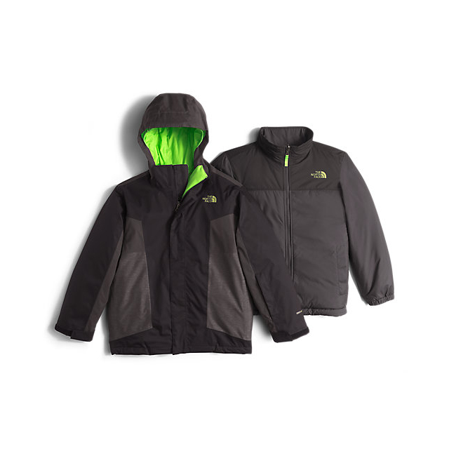 Discount NORTH FACE BOYS' AXEL TRICLIMATE JACKET BLACK ONLINE