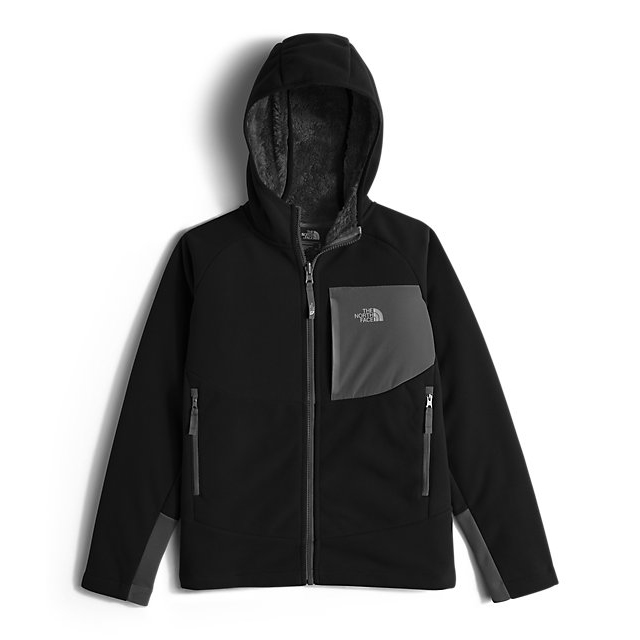 Discount NORTH FACE BOYS' CHIMBORAZO HOODIE BLACK ONLINE