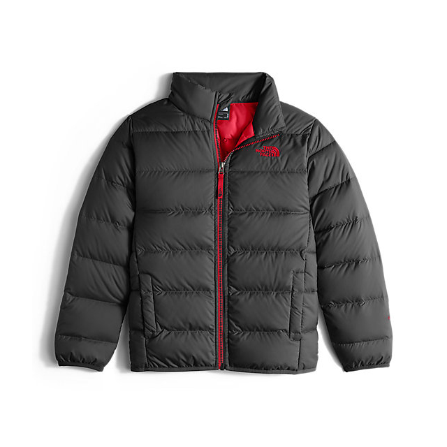 CHEAP NORTH FACE BOYS' ANDES DOWN JACKET GRAPHITE GREY ONLINE
