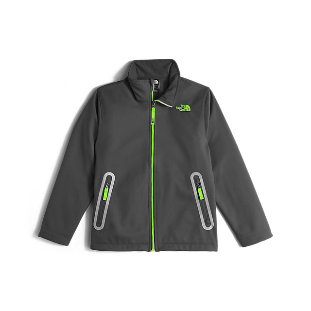 CHEAP NORTH FACE BOYS' APEX BIONIC JACKET GRAPHITE GREY ONLINE