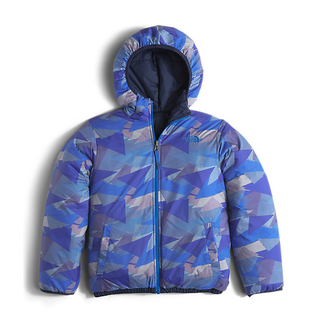 Discount NORTH FACE BOYS\' REVERSIBLE PERRITO JACKET COSMIC BLUE ONLINE