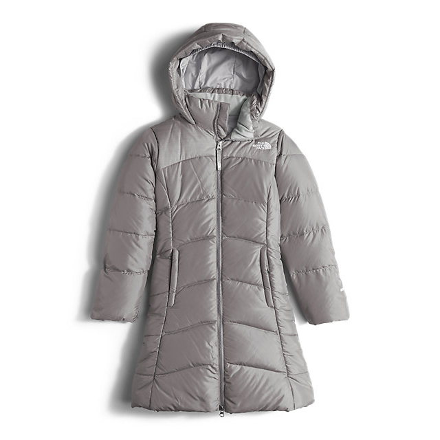 Discount NORTH FACE GIRLS' ELISA DOWN PARKA METALLIC SILVER ONLINE