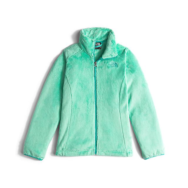 Discount NORTH FACE GIRLS' OSOLITA JACKET ICE GREEN ONLINE