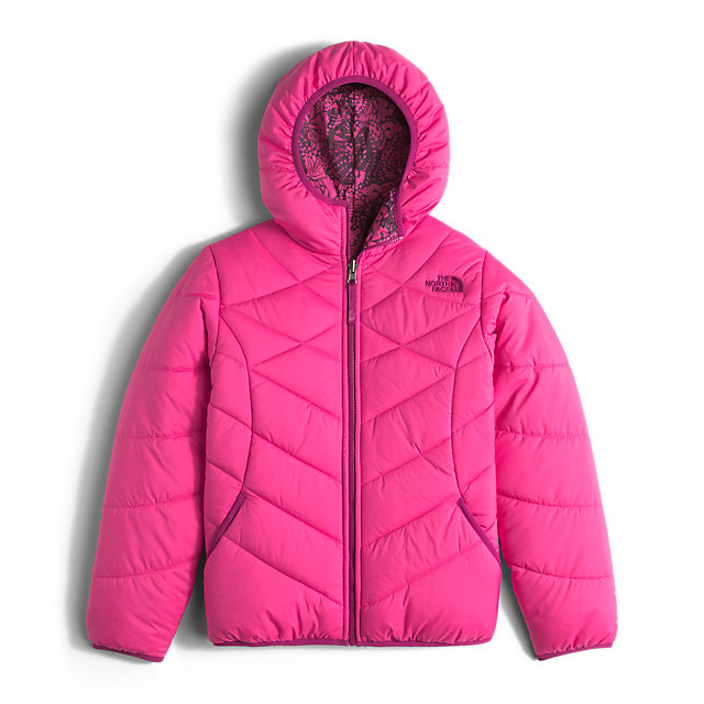 Discount NORTH FACE GIRLS\' REVERSIBLE PERRITO JACKET CABARET PINK ONLINE