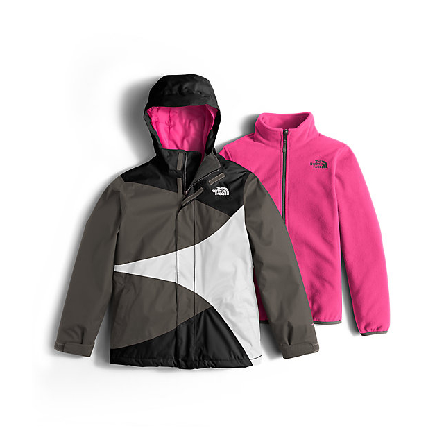 Discount NORTH FACE GIRLS' MOUNTAIN VIEW TRICLIMATE JACKET BLACK ONLINE