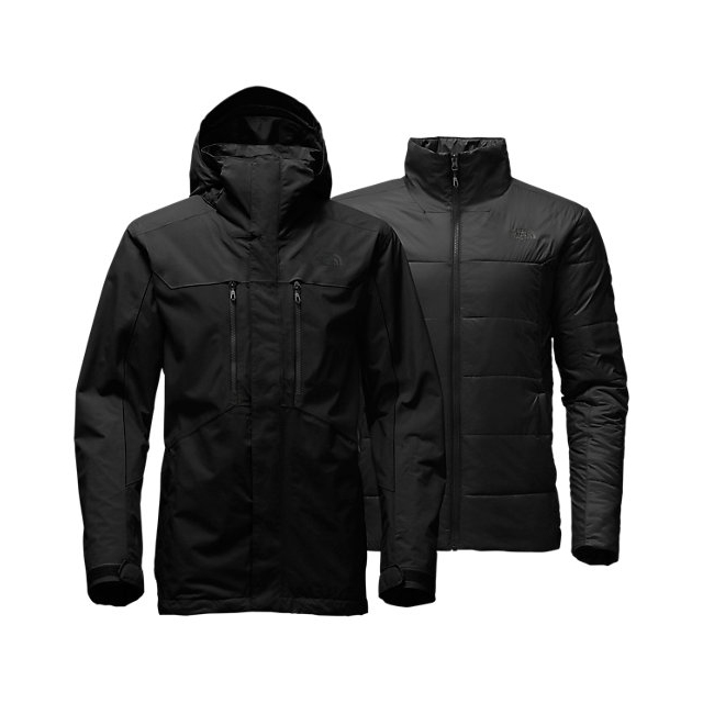 CHEAP NORTH FACE MEN'S CLEMENT TRICLIMATE  JACKET BLACK ONLINE