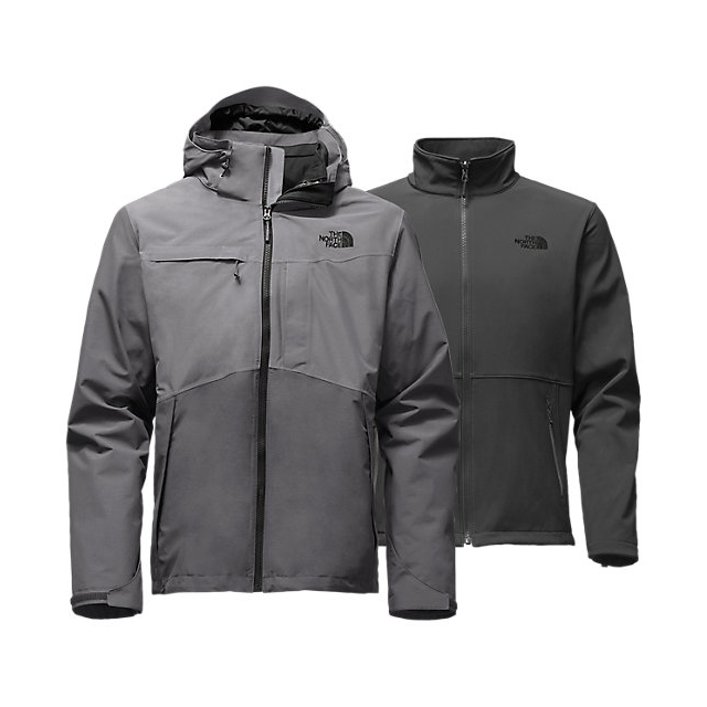 Discount NORTH FACE MEN'S CONDOR TRICLIMATE  JACKET DARK GREY HEATHER-MEDIUM GREY HEATHER ONLINE